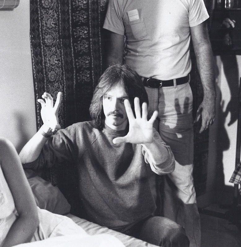 John Carpenter behind the scenes directing Halloween 1978