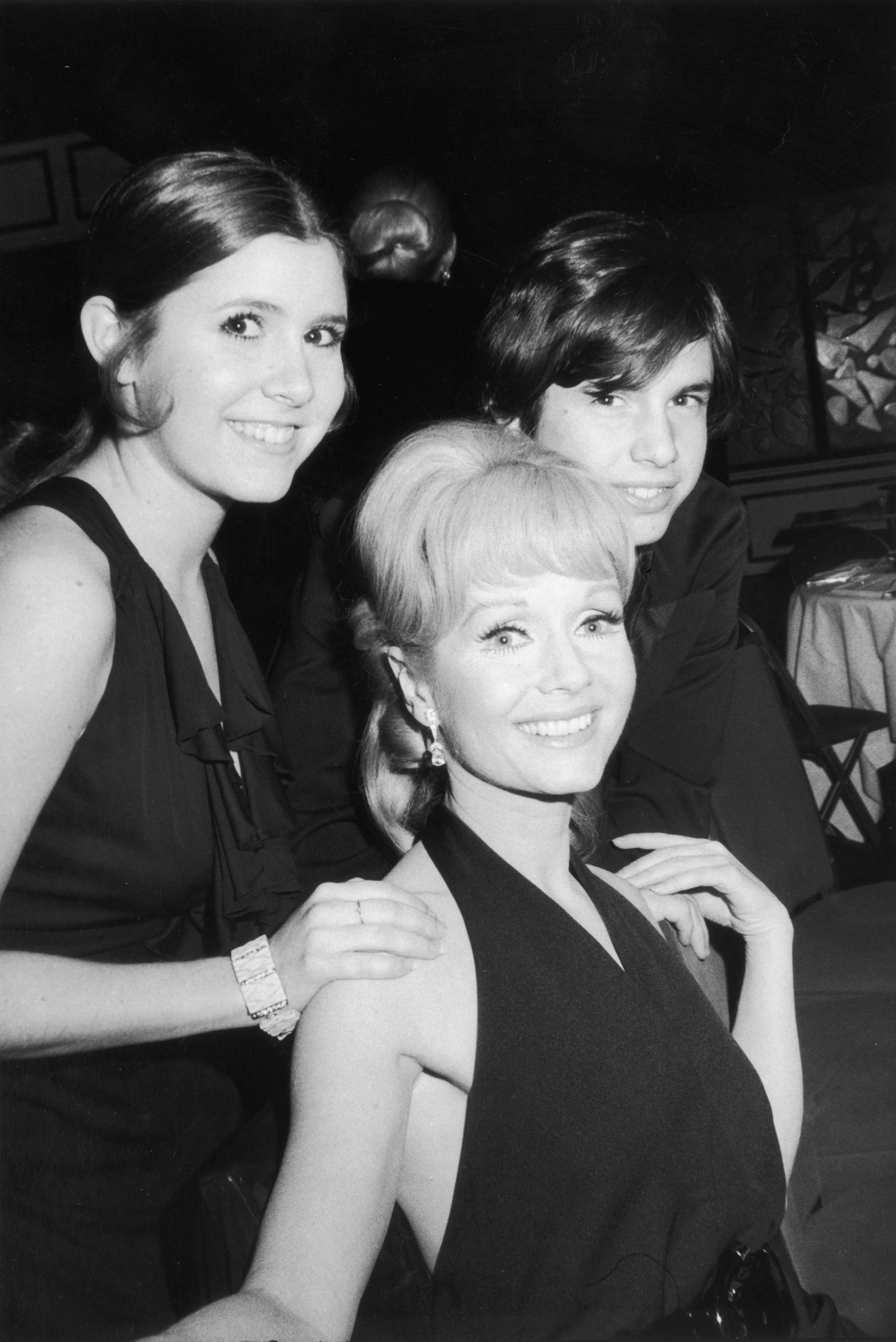 debbie reynolds carrie fisher todd 07 The Real Life Partners Of The Roseanne Cast