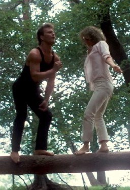 dirty dancing log dance johnny baby 30 Things You Probably Didn't Know About Dirty Dancing