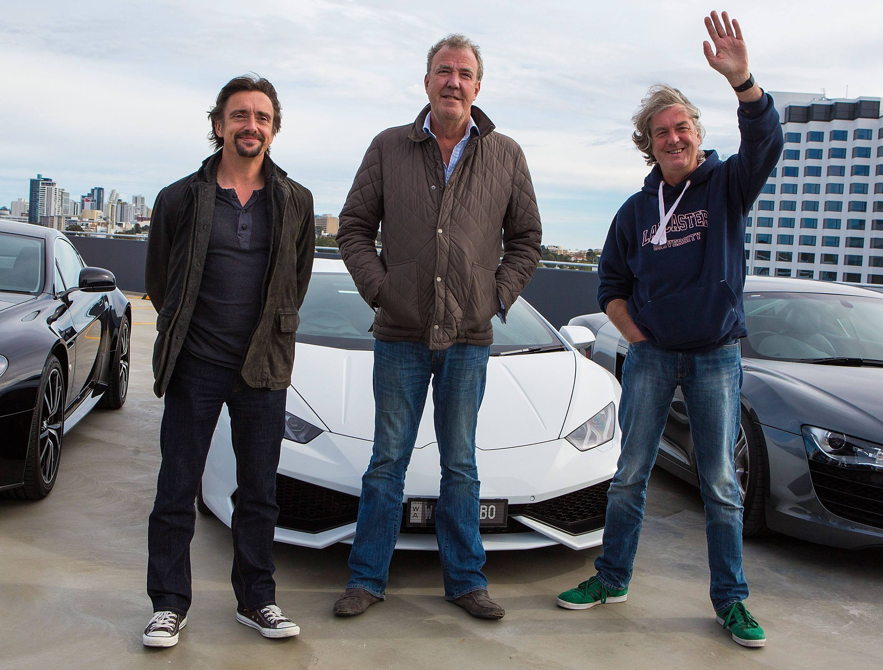 gettyimages 481025910 Jeremy Clarkson, James May & Richard Hammond Make Shock Announcement
