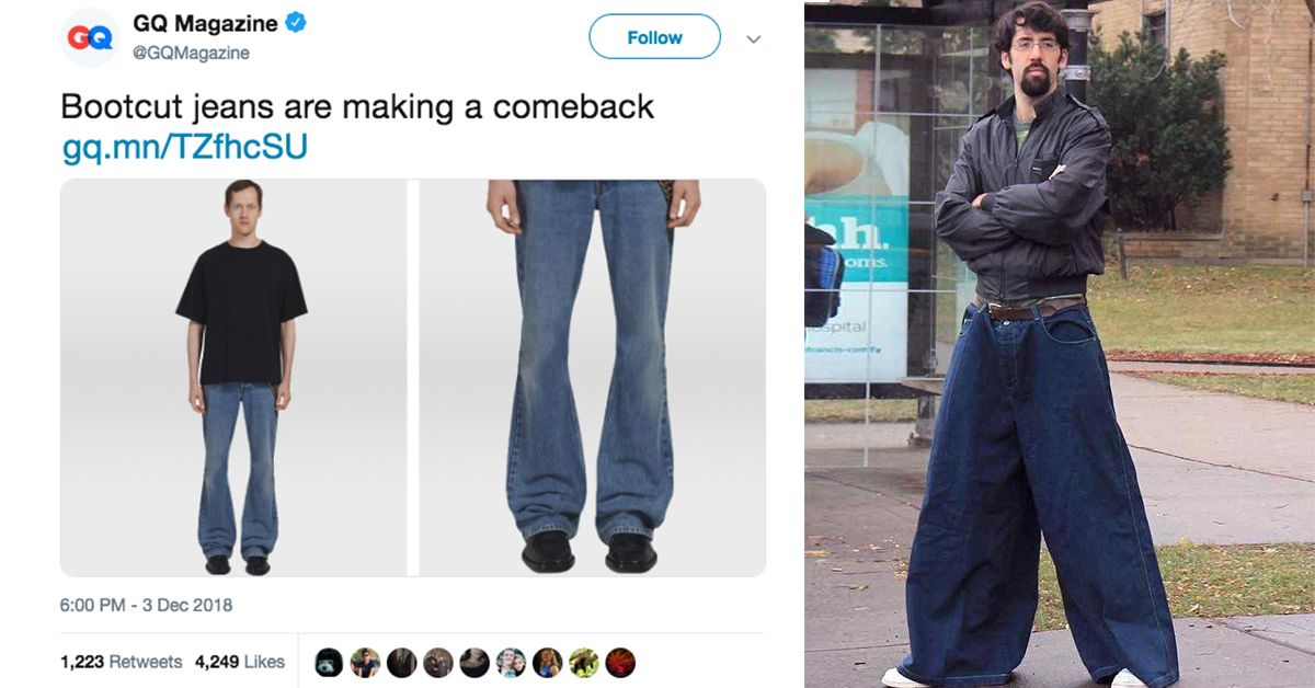 cfb65bfefc9d Prepare Yourselves  Boot Cut Jeans Are Making A Comeback