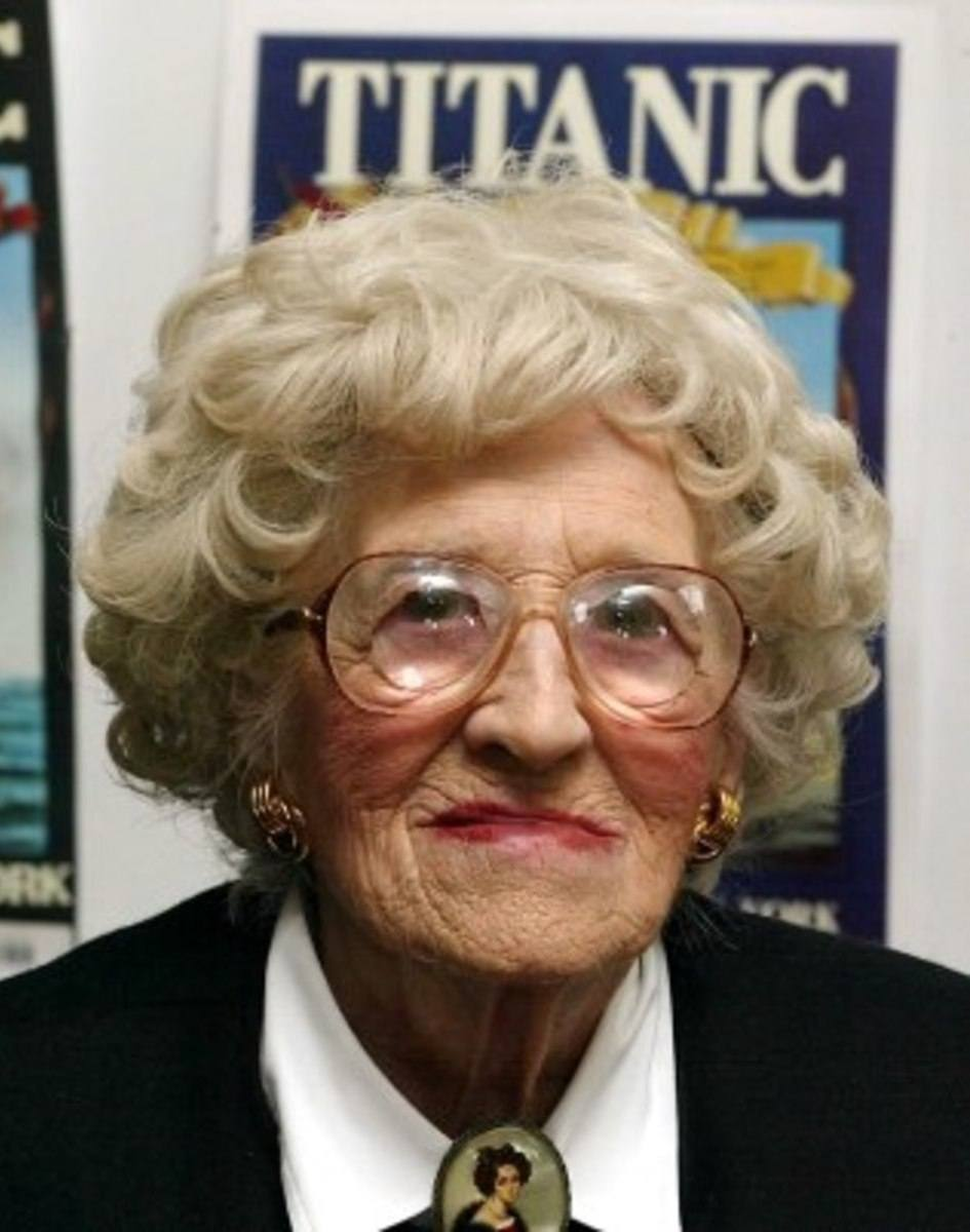 millvina dean 283812 1 402 25 Things You Never Knew About The Titanic