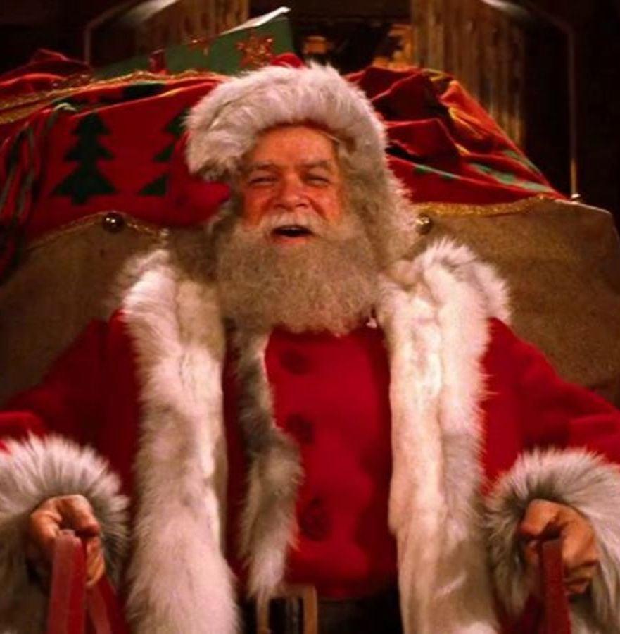 David Huddleston presents sleigh Santa Claus: The Movie 1985