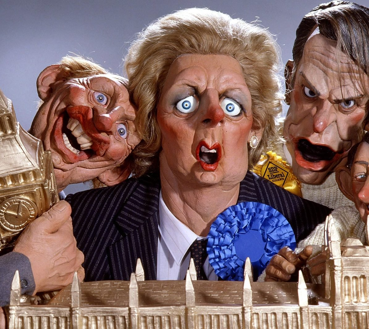 spitting image e1622189648588 12 Classic Comedy Shows From When We Grew Up - Which Was Your Favourite?
