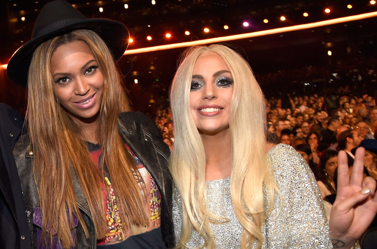 01 lady gaga beyonce billboard 1548 30 Things You Didn't Know About A Star Is Born