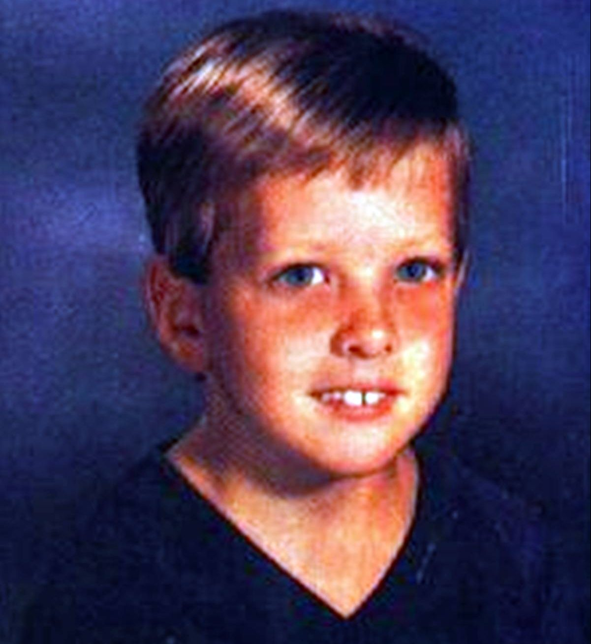 New Kids on the Blocks Joey McIntyre as a child