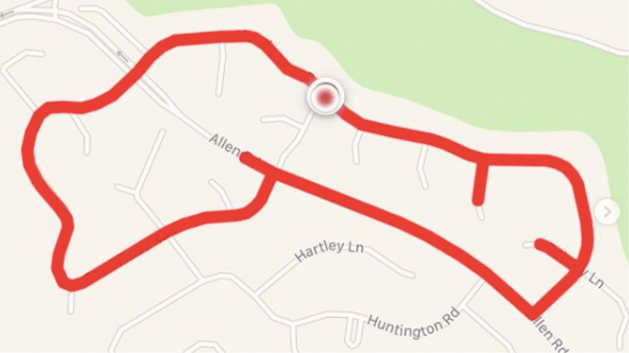 1547700849441 Screen Shot 2019 01 17 at 32721 pm There's An Instagram Account For A Woman Who Runs Penis-Shaped Routes