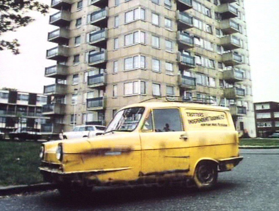 1B347EEA000005DC 3960550 The iconic Trotters three wheeled car parked outside Harlech Tow a 13 1479823398520 The Block Of Flats From Only Fools And Horses Is Set To Be Demolished