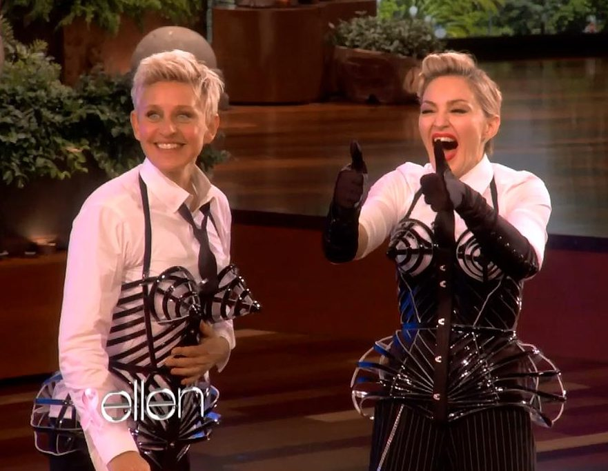 20121023 news madonna ellen degeneres interview pictures hq 03 e1627642124987 25 Things You Didn't Know About Ellen DeGeneres