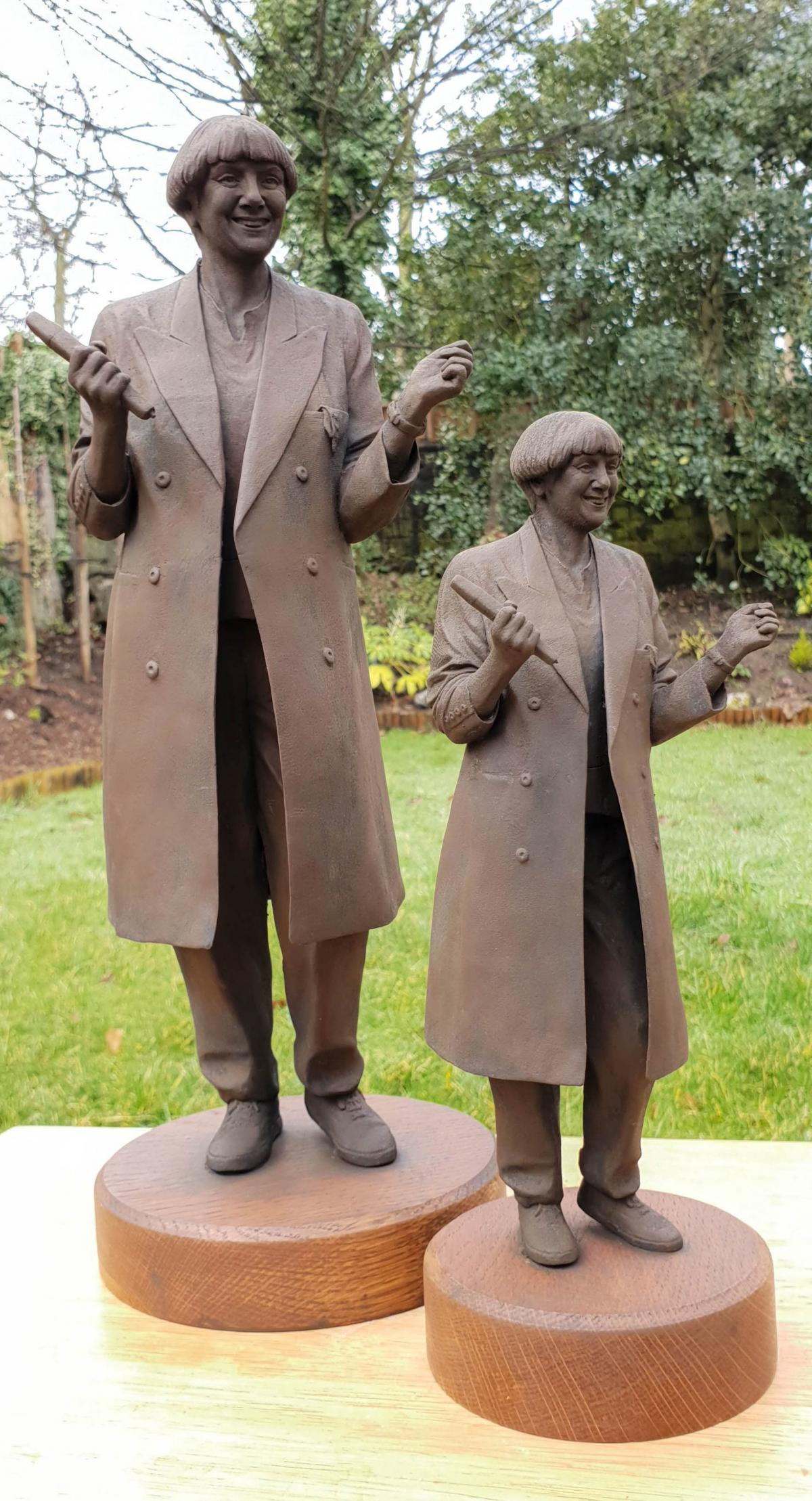 20158413 1.jpg.gallery Victoria Wood Memorial Statue Faces Backlash Over Claims It Looks 'More Like Peter Beardsley'