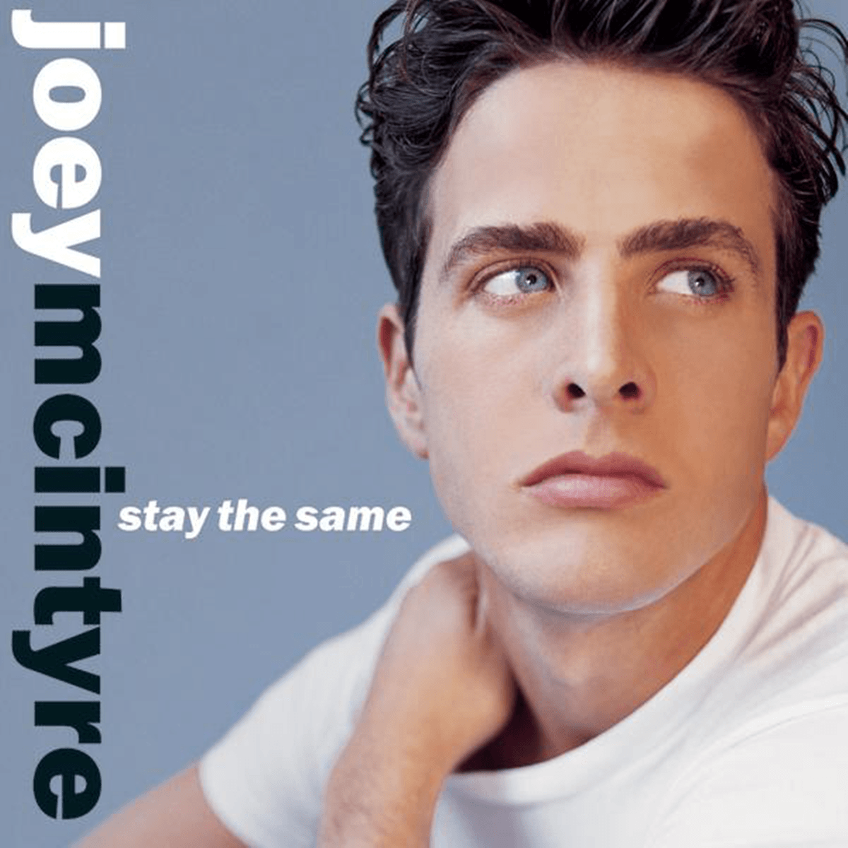 The cover of Joey McIntyres 1999 solo album, Stay the Same