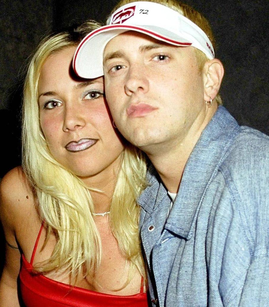 Eminem and ex-wife Kim Mathers