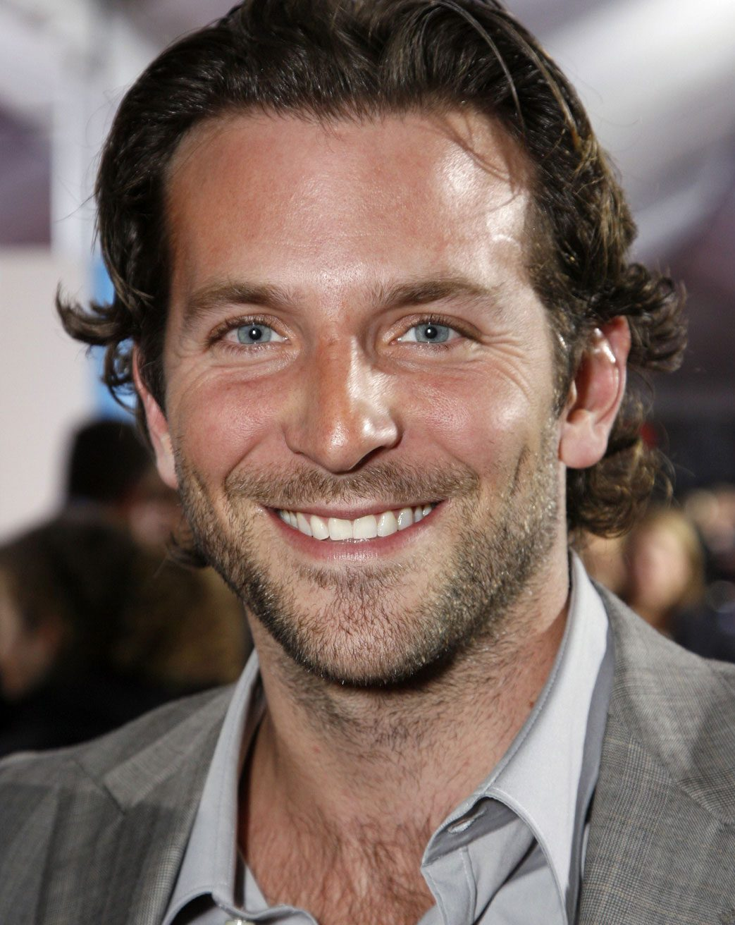 Bradley Cooper smiling