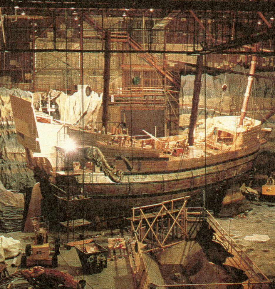 The Goonies One-Eyed Willy pirate ship set