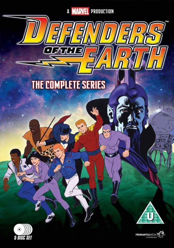 Defenders of the Earth 12 DVD Boxsets That Will Take You Straight Back To Your Childhood!