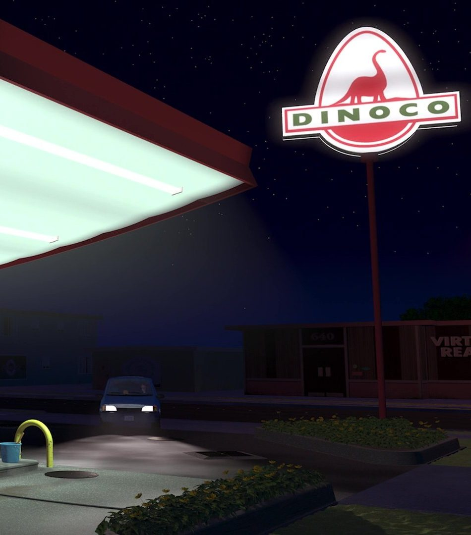 Dinoco Station e1561544838155 25 Years Old Today: Here's 30 Things You Never Knew About Toy Story