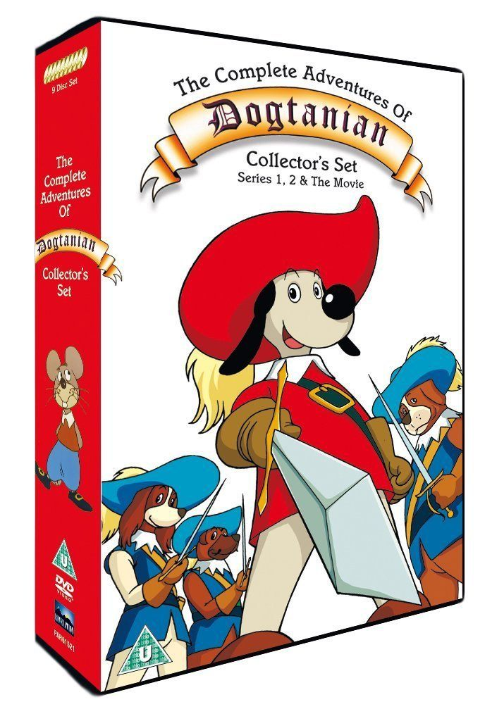 Dogtanian 12 DVD Boxsets That Will Take You Straight Back To Your Childhood!