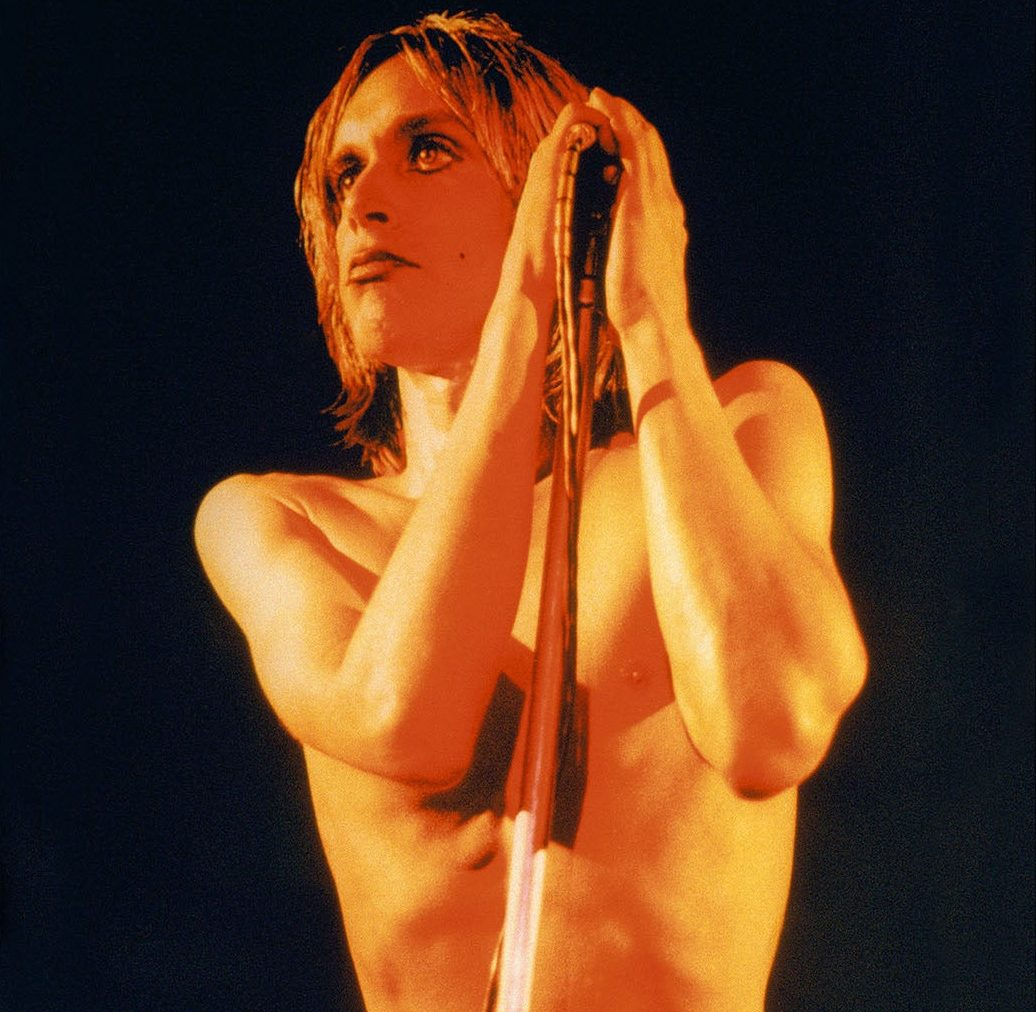 IggyPop RawPowerAlbumCover London1972 20x24cMickRock019 1 e1613146103614 30 Haunting Facts About Brandon Lee's The Crow