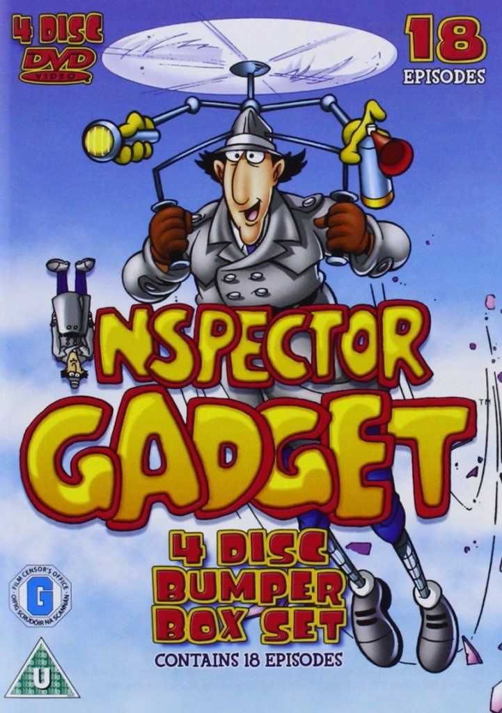 Inspector Gadget 12 DVD Boxsets That Will Take You Straight Back To Your Childhood!