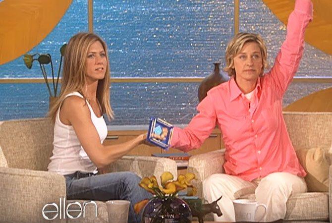 Jennifer Aniston Ellen Show 25 Things You Didn't Know About Ellen DeGeneres