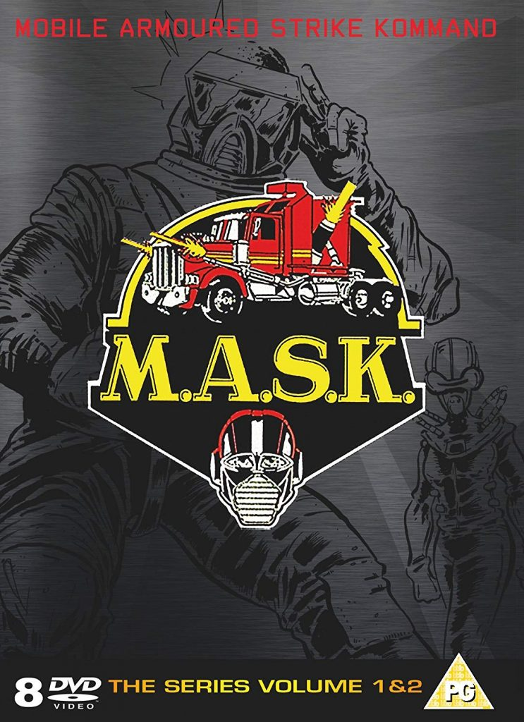 MASK Complete 12 DVD Boxsets That Will Take You Straight Back To Your Childhood!