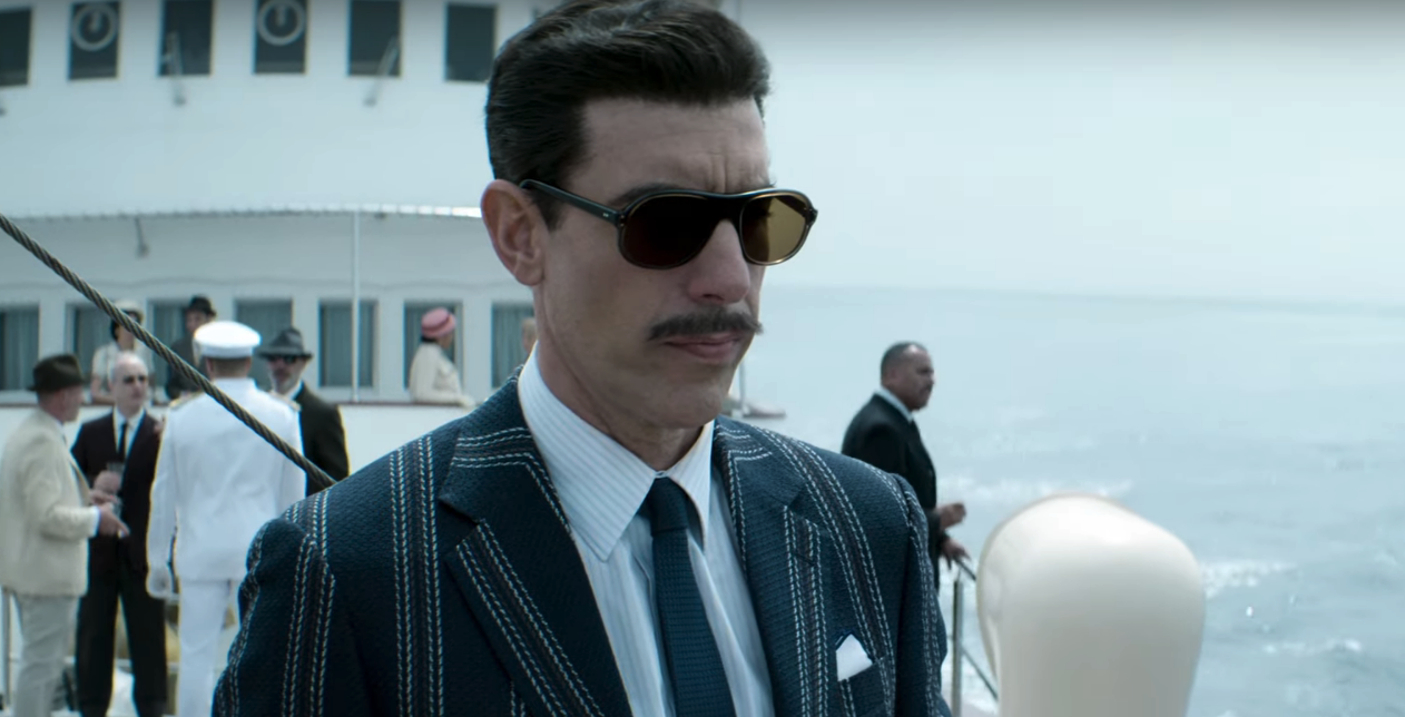 Sacha Baron Cohen in The Spy 1 25 Things You Need To Know About Bohemian Rhapsody