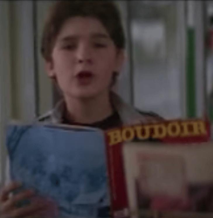 Corey Feldman as Mouth in The Goonies