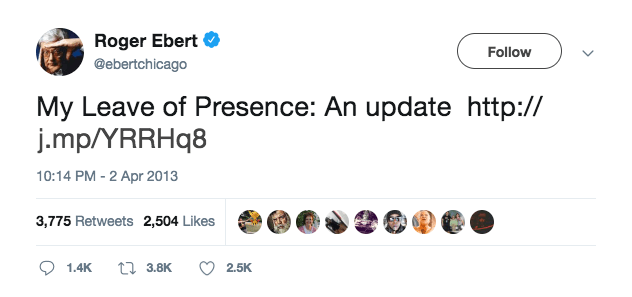 Screen Shot 2019 01 24 at 11.39.22 The 30 Most Haunting Final Tweets By Celebrities
