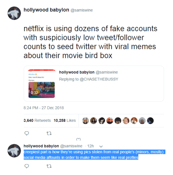 Screenshot 2019 01 09 at 09.25.22 25 Things You Didn't Know About Bird Box