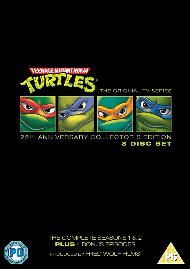 Teenage Mutant Turtles 12 DVD Boxsets That Will Take You Straight Back To Your Childhood!