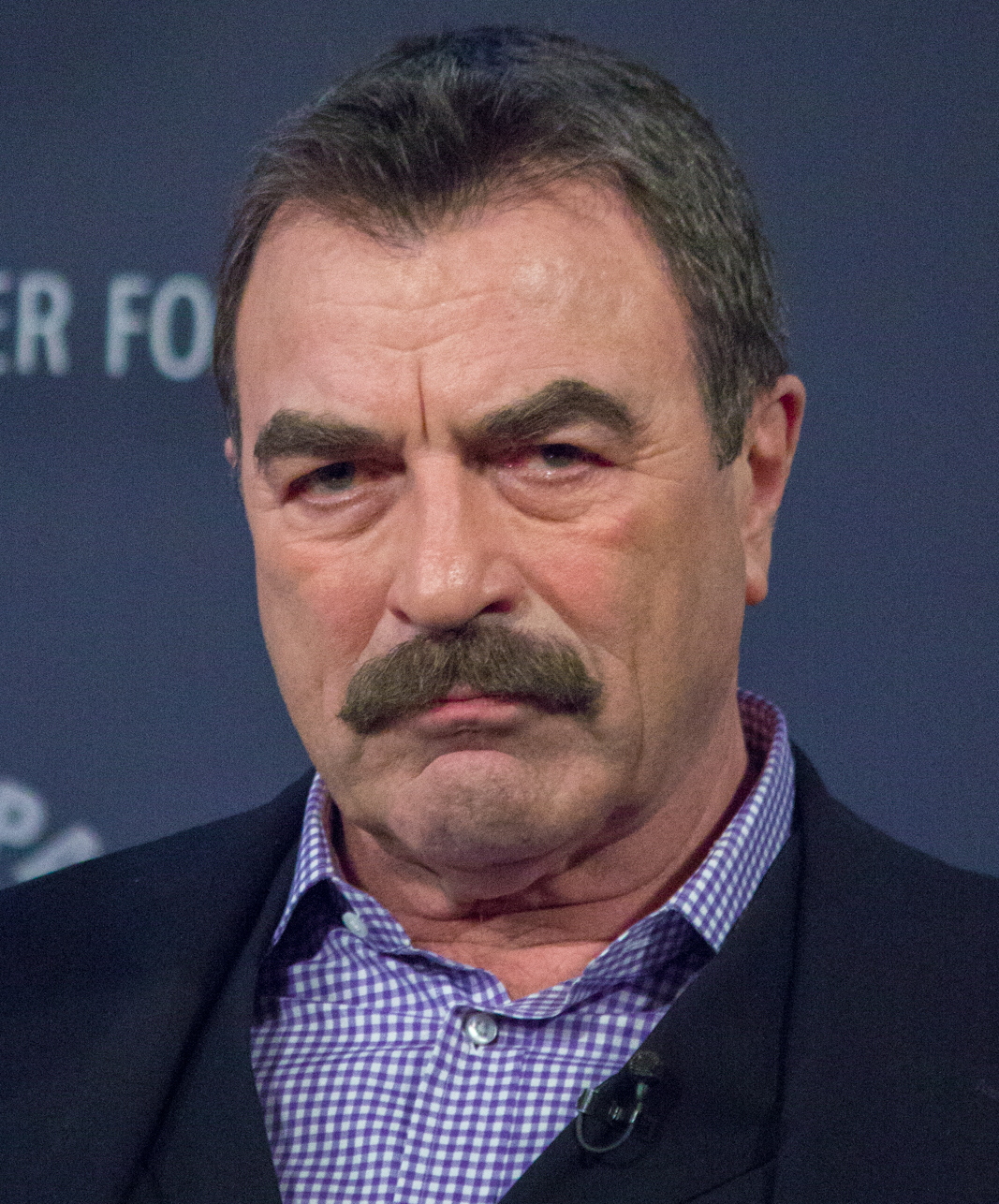 Tom Selleck at PaleyFest 2014 25 Celebrities You Didn't Know Served In The Military