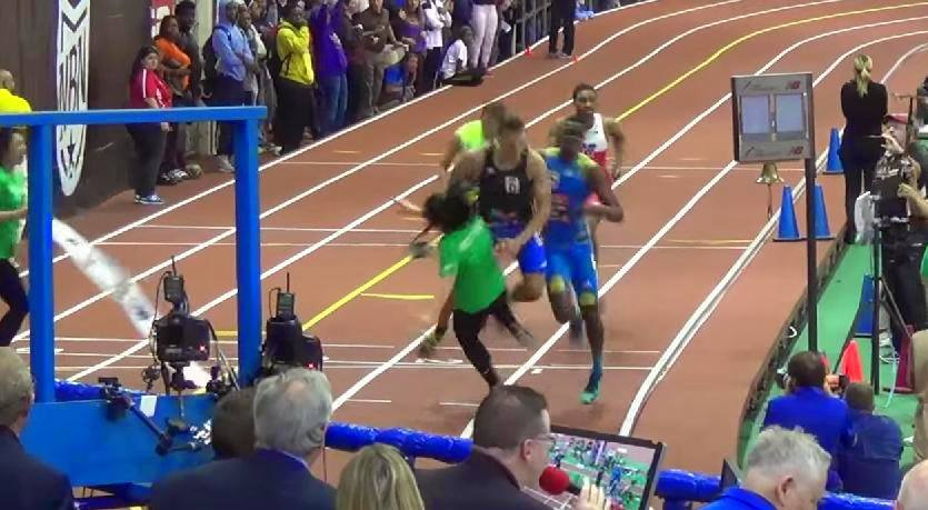 Union Catholic NJ track star Taylor McLaughlin trucked a meet official after the Boys 400m Championship The Top 30 Most Epic Sporting Fails Of All Time