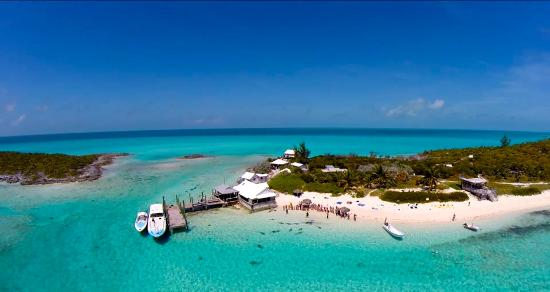 aerial view of our island 10 Celebrities Who Have Their Own Private Islands