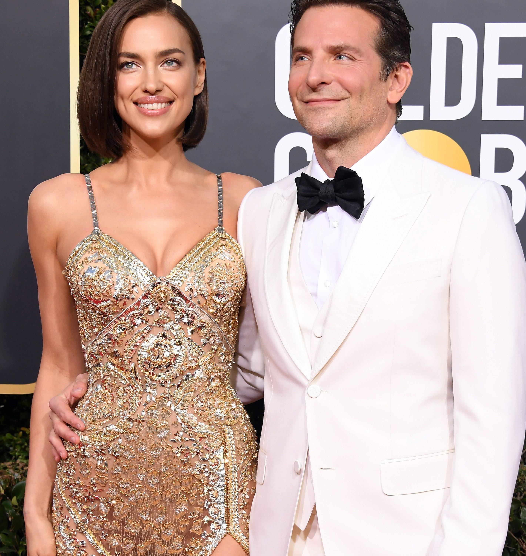 Irina Shayk and ex-husband Bradley Cooper