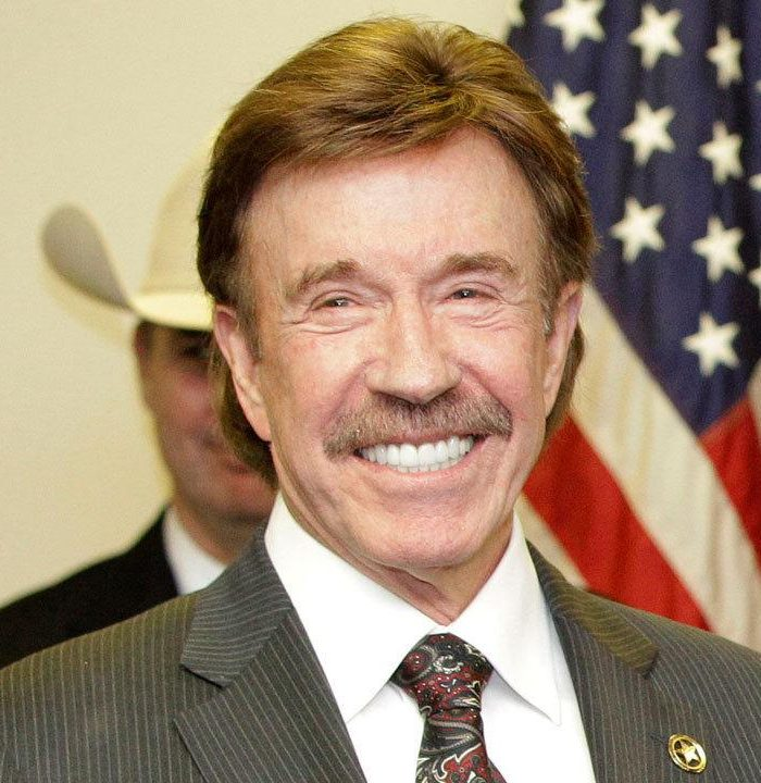 chuck norris 37796664 ver1.0 1280 720 e1574419101763 25 Celebrities You Didn't Know Served In The Military