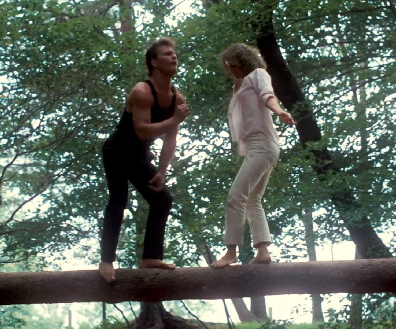 dirty dancing log dance johnny baby e1617269932235 30 Things You Probably Didn't Know About Dirty Dancing