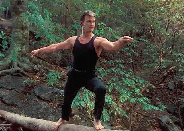 dirty dancing log dance johnny castle e1617269897526 30 Things You Probably Didn't Know About Dirty Dancing