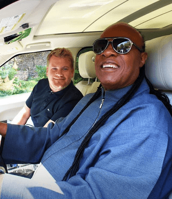 james corden stevie wonder e1549457011306 25 Things You Didn't Know About James Corden