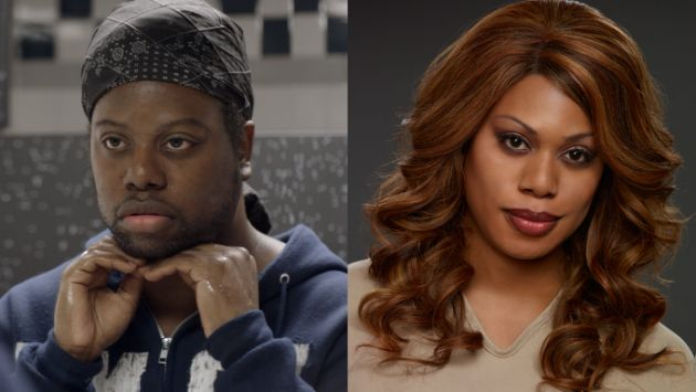 m lamar laverne cox orange is the new black jpg 233652 Celebs And Their Non-Famous Siblings