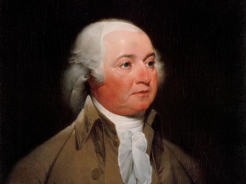 official presidential portrait of john adams by john trumbull circa 1792 33 Celebrities You Didn't Know Used To Be Teachers