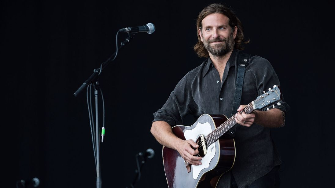 skynews bradley cooper glastonbury 4447415 30 Things You Didn't Know About A Star Is Born