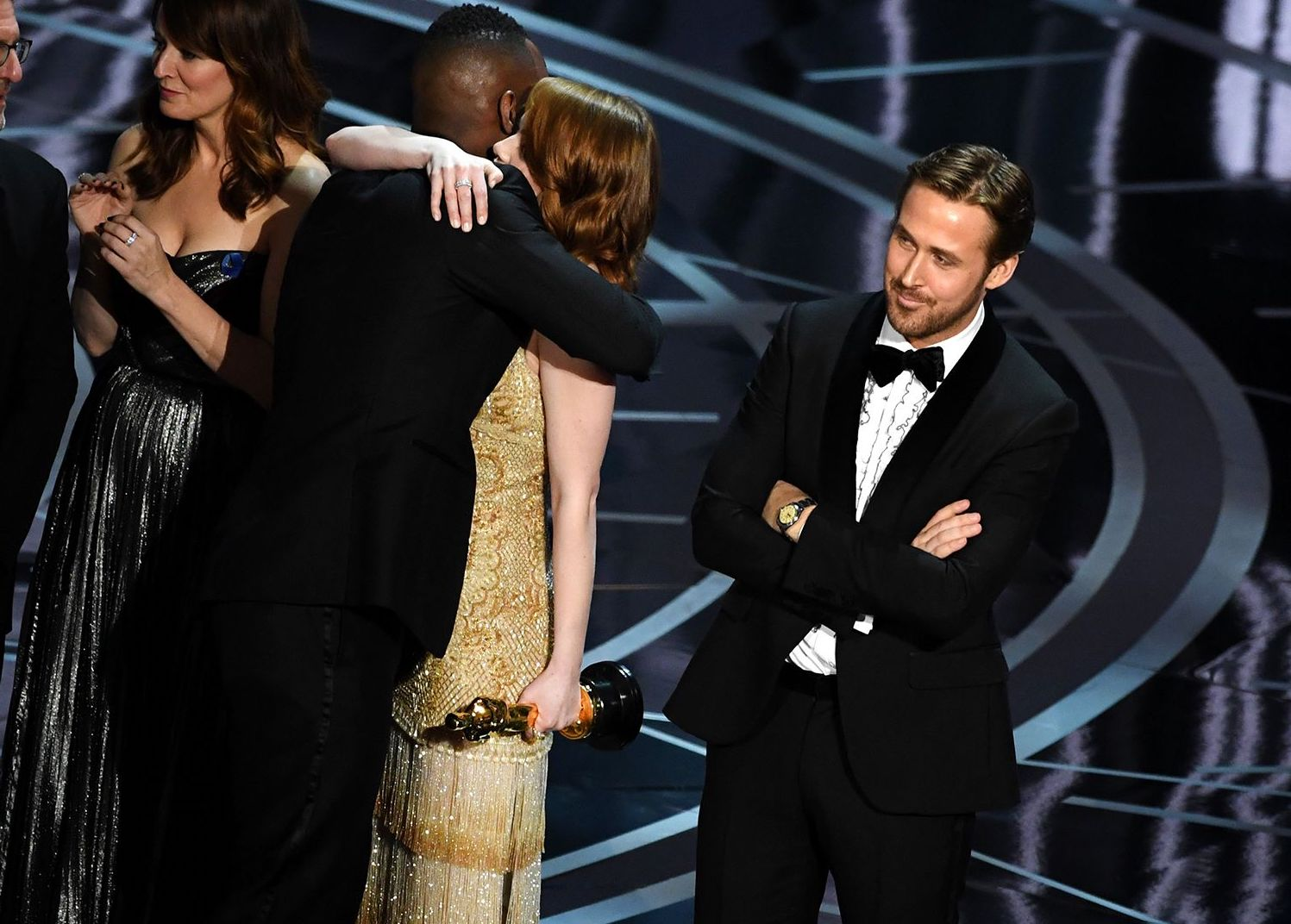 1490214454 hbz gosling best picture The 10 Craziest Things That Ever Happened At The Oscars