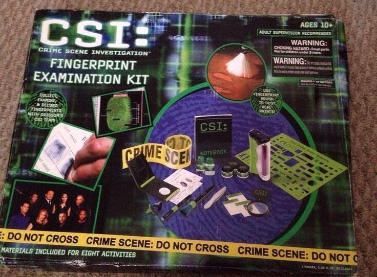 CSI Fingerprint Examination Kit