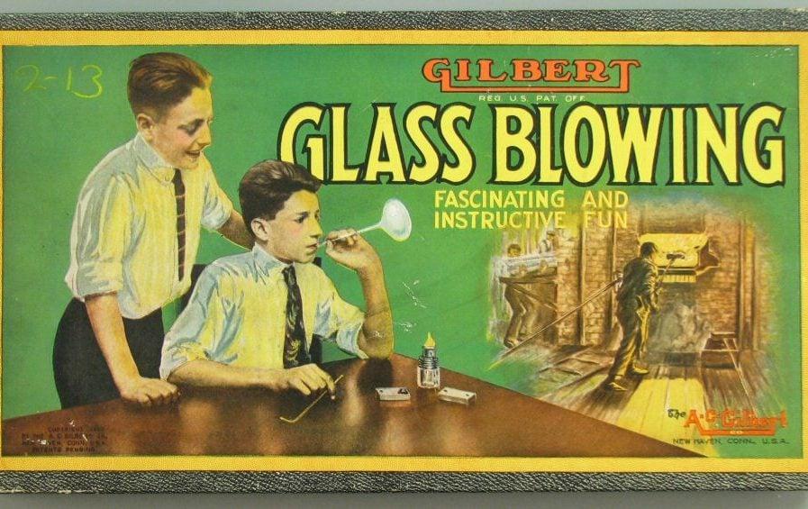 Gilbert Glass Blowing Set