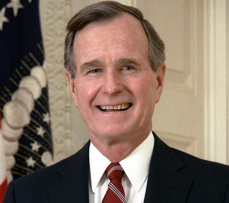 800px George H. W. Bush presidential portrait cropped e1615992234903 30 Things You Didn't Know About The Simpsons