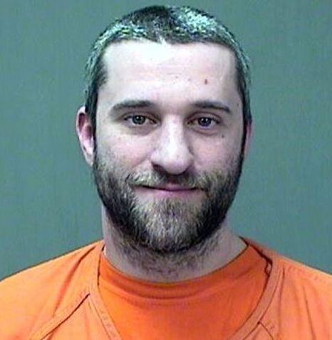 Dustin Diamond 2014 arrest photo