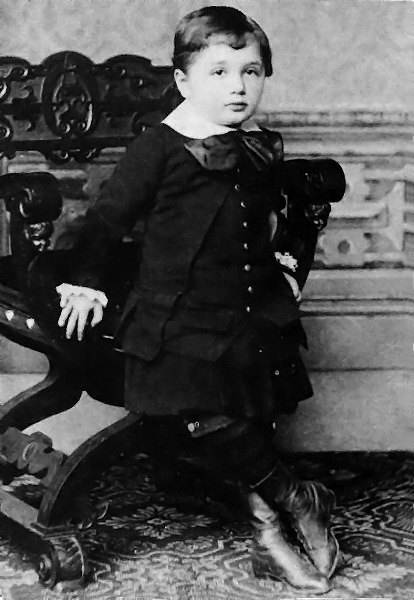 Albert Einstein at the age of three 1882 These Celebrities Were Expelled From School. The Reasons Why Will Surprise You!