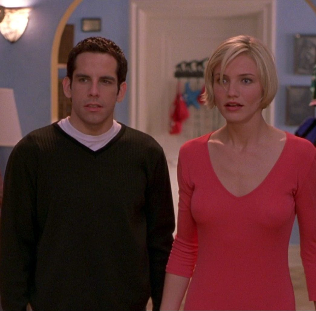 Ben Stiller as Ted and Cameron Diaz as Mary in Theres Something About Mary e1598345259428 20 Full-Blooded Facts About The Lost Boys