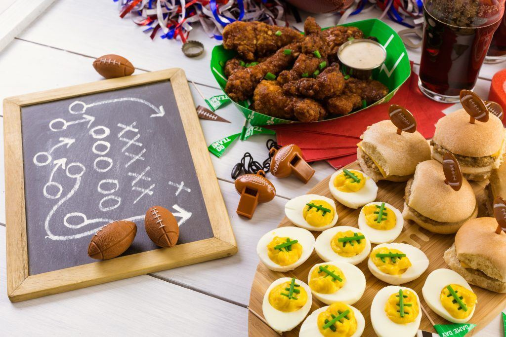 Football snacks TS 642827718 1 1024x683 10 Things You Didn't Know About The Super Bowl