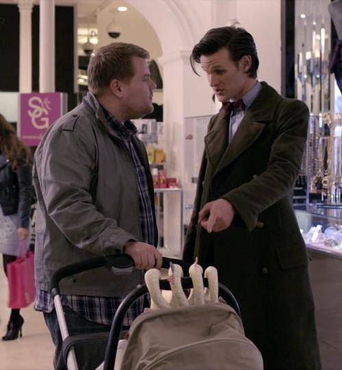 James on Doctor Who james corden 28045976 960 540 25 Things You Didn't Know About James Corden